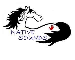 Horse Logo with Hand
